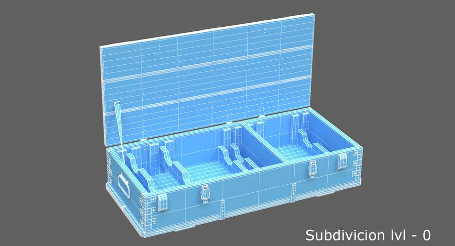 弾薬箱 royalty-free 3d model - Preview no. 26