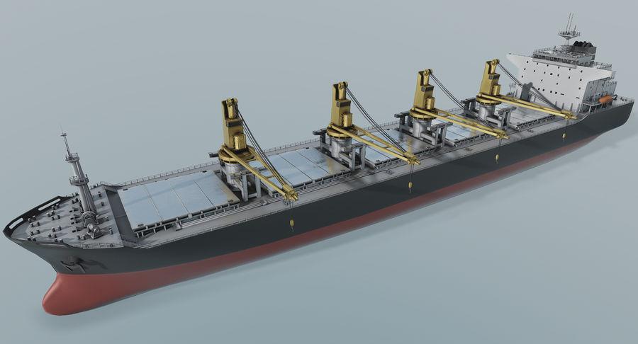 Bulker Ship royalty-free 3d model - Preview no. 7