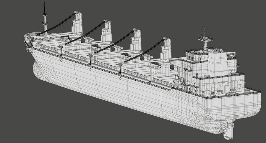 Bulker Ship royalty-free 3d model - Preview no. 18