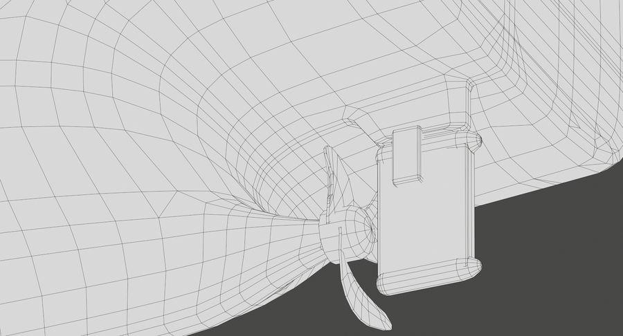 Bulker Ship royalty-free 3d model - Preview no. 20