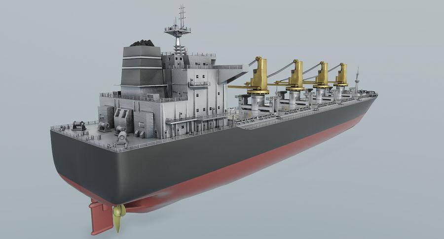Bulker Ship royalty-free 3d model - Preview no. 4