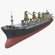 Bulker Gemisi 3d model