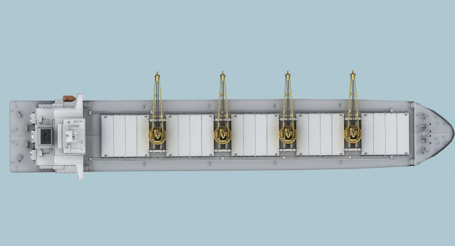 Bulker Ship royalty-free 3d model - Preview no. 14