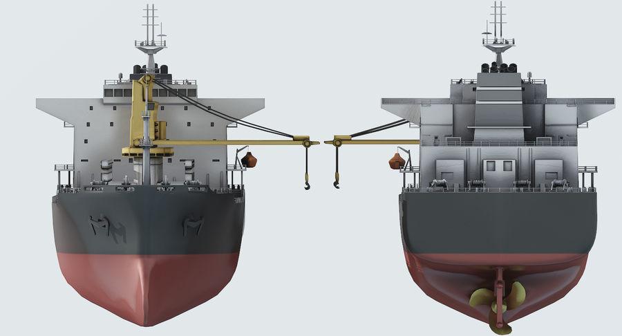 Bulker Ship royalty-free 3d model - Preview no. 12