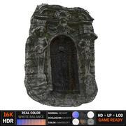 Puerta del infierno modelo 3d