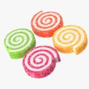 Sugar Paste Rolls 3d model
