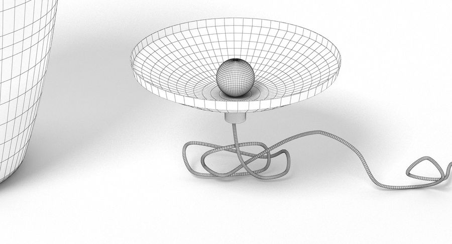 Brokis Kupfer Lamp Set royalty-free 3d model - Preview no. 9