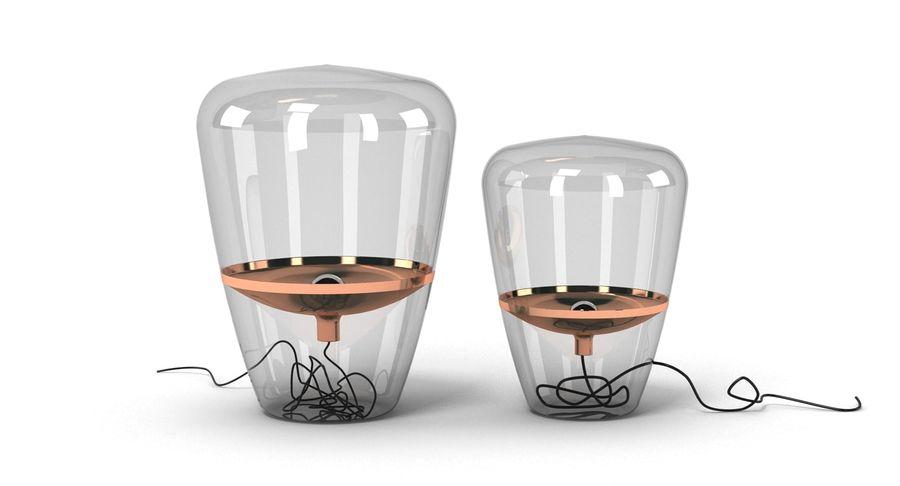 Brokis Kupfer Lamp Set royalty-free 3d model - Preview no. 3