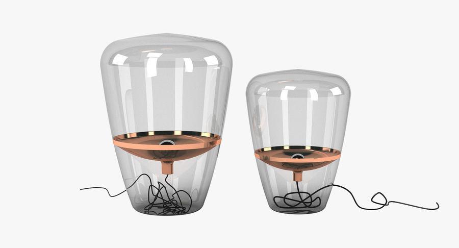 Brokis Kupfer Lamp Set royalty-free 3d model - Preview no. 2