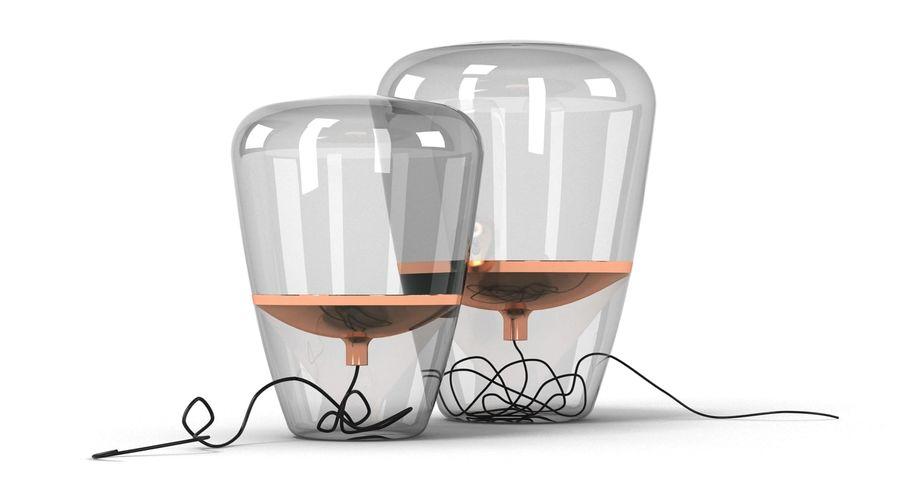 Brokis Kupfer Lamp Set royalty-free 3d model - Preview no. 10
