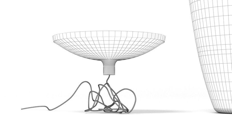Brokis Kupfer Lamp Set royalty-free 3d model - Preview no. 7