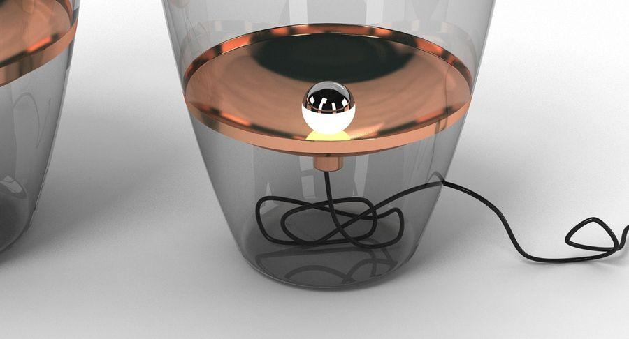 Brokis Kupfer Lamp Set royalty-free 3d model - Preview no. 8