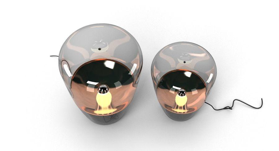 Brokis Kupfer Lamp Set royalty-free 3d model - Preview no. 5