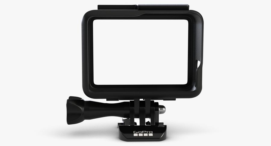 GoPro HERO 5 Frame royalty-free 3d model - Preview no. 4
