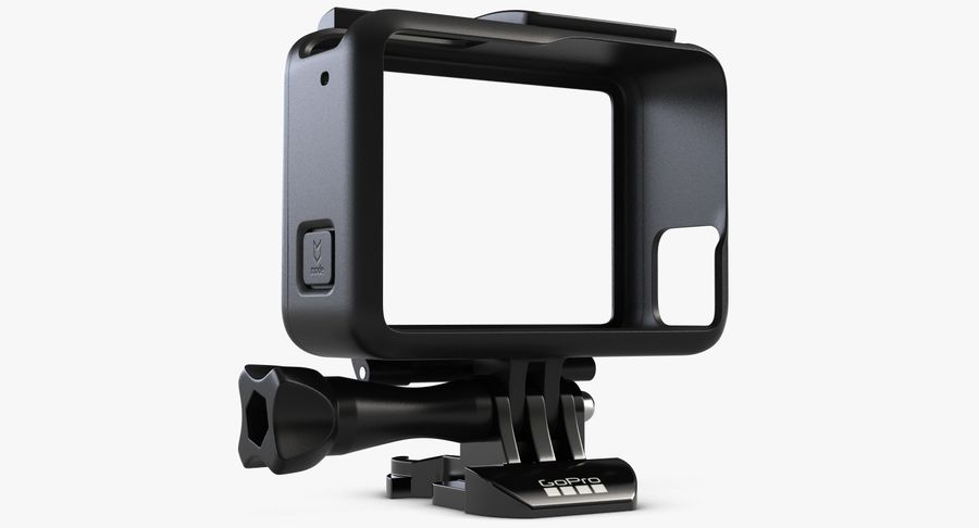 GoPro HERO 5 Frame royalty-free 3d model - Preview no. 2