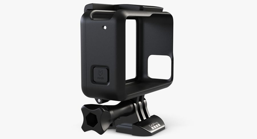 GoPro HERO 5 Frame royalty-free 3d model - Preview no. 5