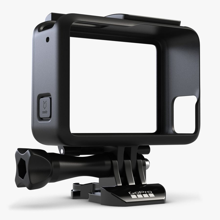 GoPro HERO 5 Frame royalty-free 3d model - Preview no. 1