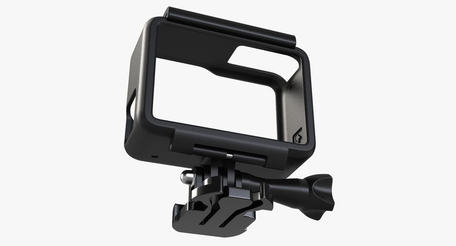 GoPro HERO 5 Frame royalty-free 3d model - Preview no. 10