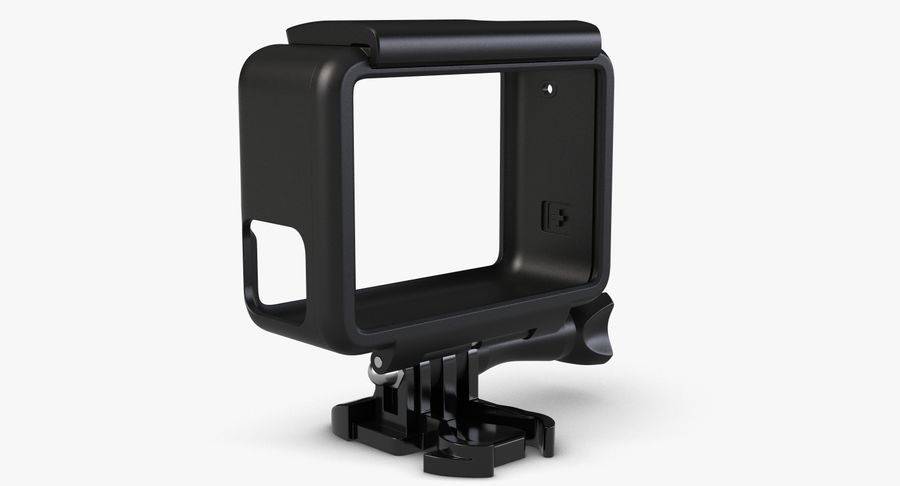 GoPro HERO 5 Frame royalty-free 3d model - Preview no. 7
