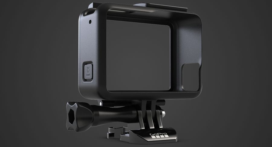 GoPro HERO 5 Frame royalty-free 3d model - Preview no. 3