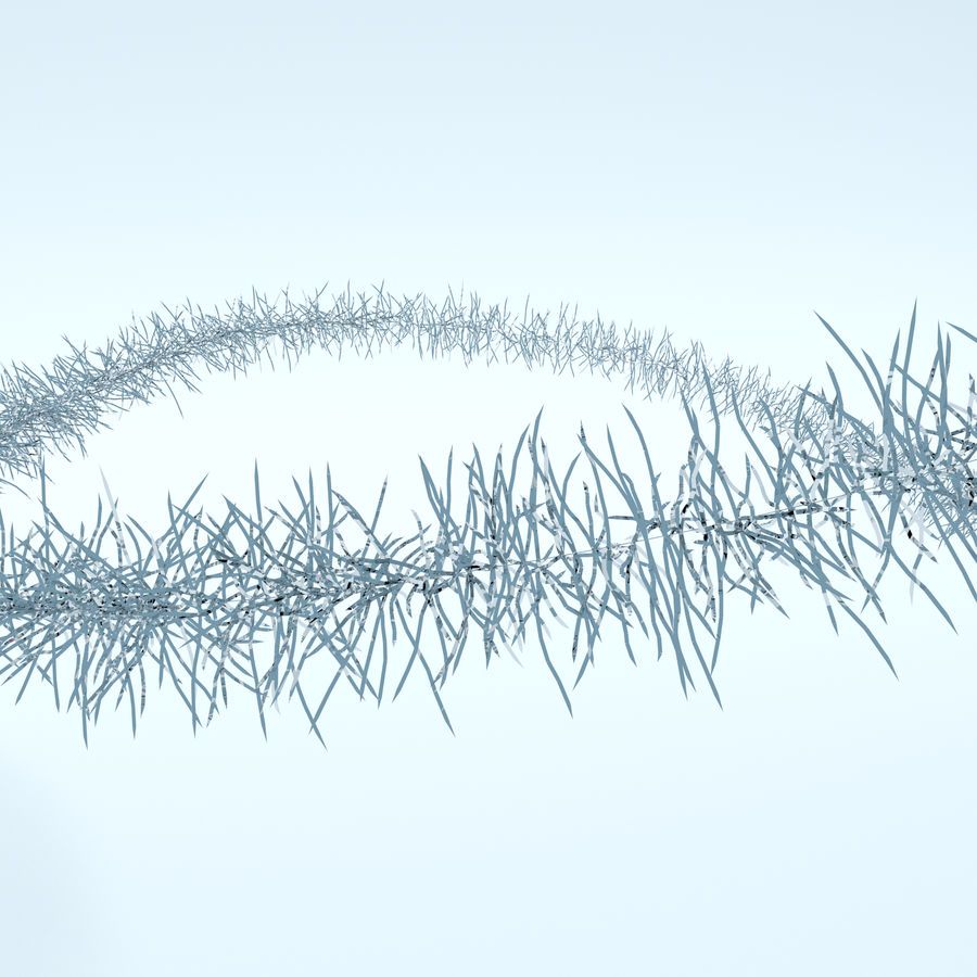 Weihnachtsbaum royalty-free 3d model - Preview no. 8