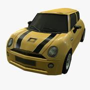 汽车低聚 3d model