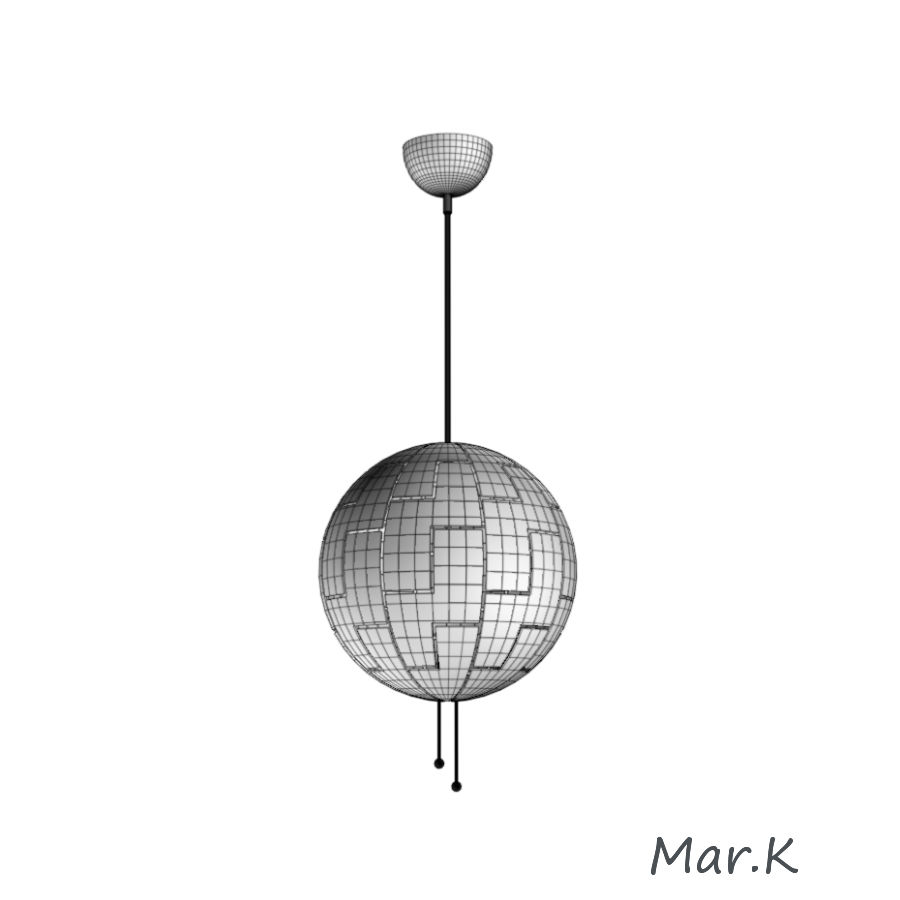 lamp Model5unknownskpobj3ds 3D Hanging Ikea PS JT1clFK3