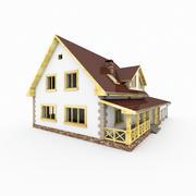 Casa linda namorada 3d model