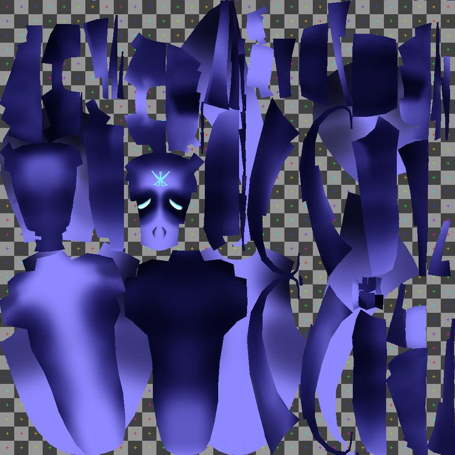 Fantasma misterioso royalty-free modelo 3d - Preview no. 2