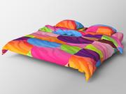 베개 침대 1 3d model
