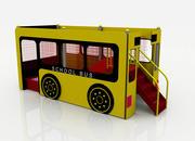 迷你巴士游乐场 3d model