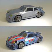 Fancy or Rusted Race Car 3d model