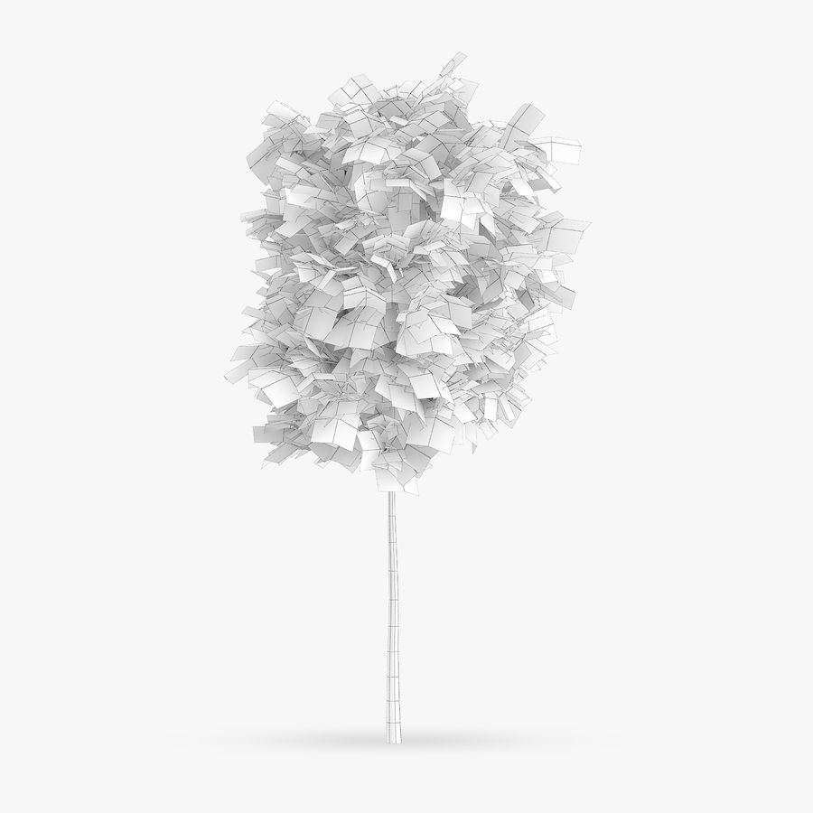 Common Hornbeam Tree 1.7m royalty-free 3d model - Preview no. 4