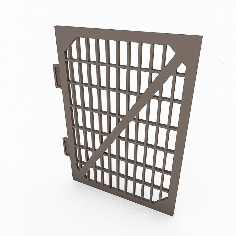 Portões e cercas de metal royalty-free 3d model - Preview no. 3