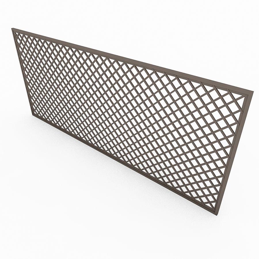 Portões e cercas de metal royalty-free 3d model - Preview no. 5