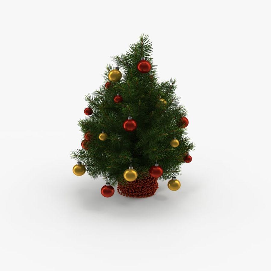 Sapin de Noël royalty-free 3d model - Preview no. 1