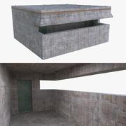 Bunker four full 3d model