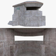Bunker two full 3d model
