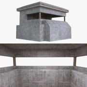 Bunker one full 3d model