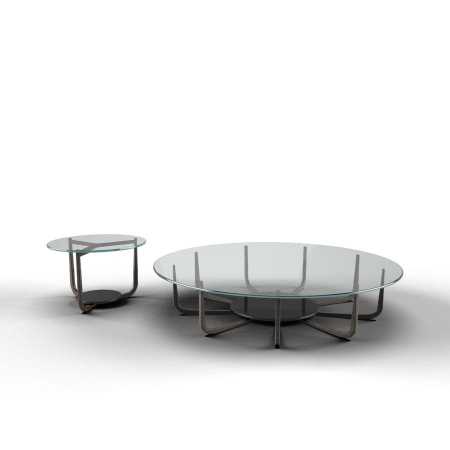 Nowoczesny stół do salonu royalty-free 3d model - Preview no. 5