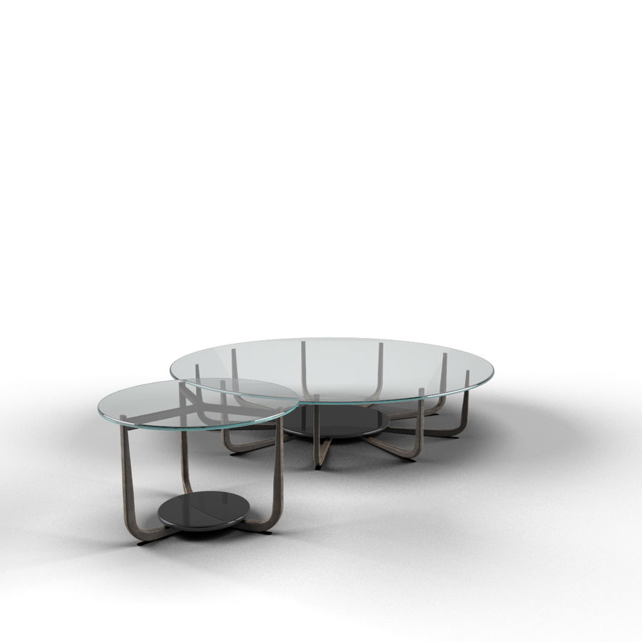 Nowoczesny stół do salonu royalty-free 3d model - Preview no. 4