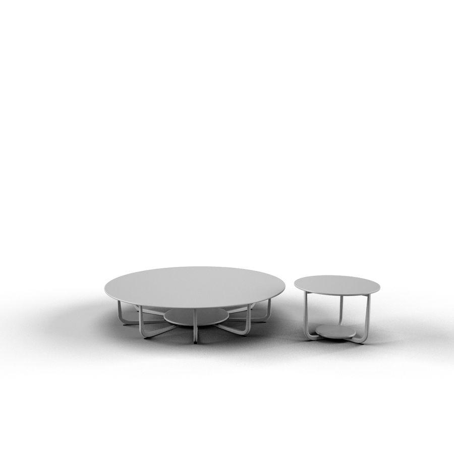 Nowoczesny stół do salonu royalty-free 3d model - Preview no. 2