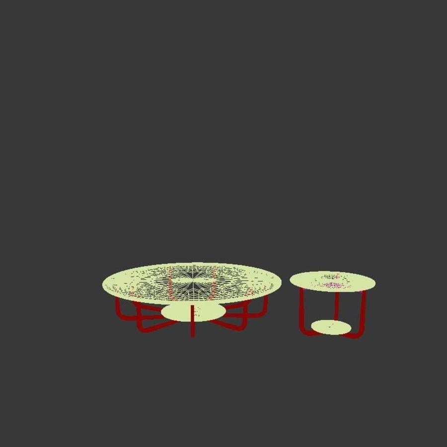 Nowoczesny stół do salonu royalty-free 3d model - Preview no. 3