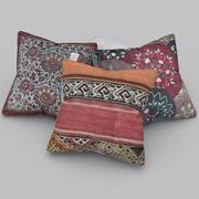 現実的な装飾枕 3d model