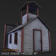 Casa do Oeste Selvagem # 1 3d model