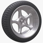 Wheel 19 Car 3d model