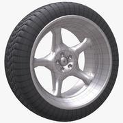 车轮19车 3d model
