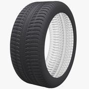 Wheel 20 Tire 3d model