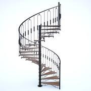 spiraltrappa 3d model