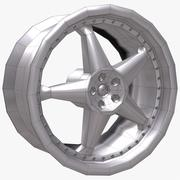 Wheel 22 Disk 2 3d model